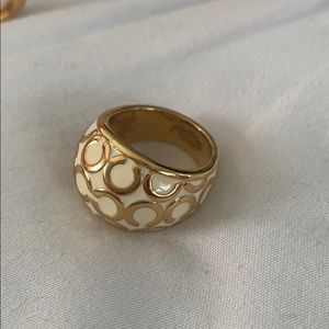Coach C Dome Ring